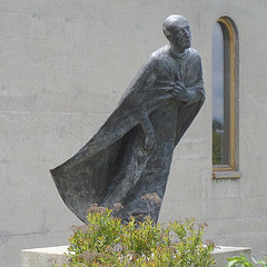 Statue of Saint Ignatius the Pilgrim at Guelph
