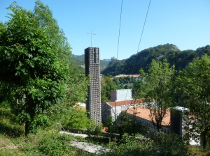 At last the sanctuary at Arantzazu