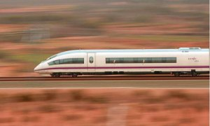 Spanish high speed train