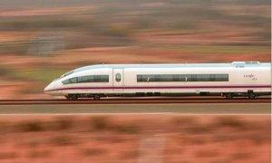 Spanish high speed train