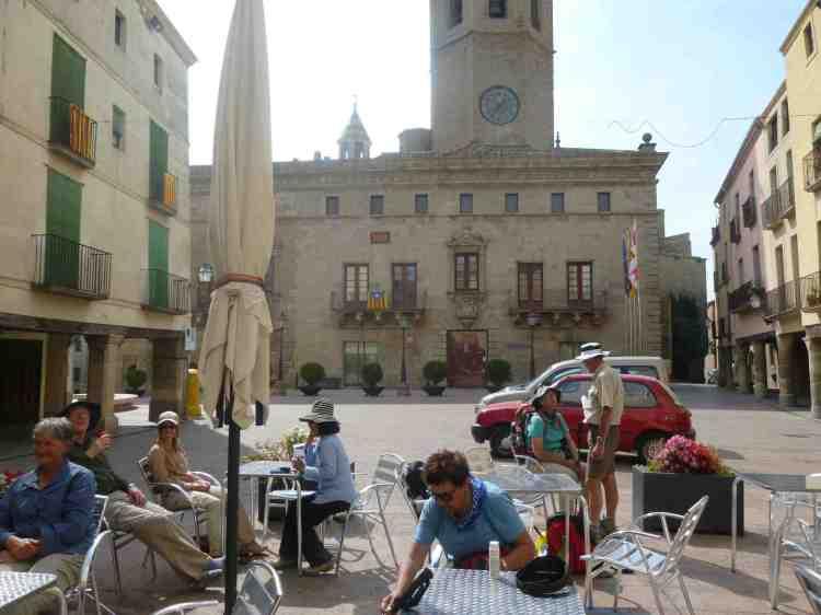 Cervera's main square