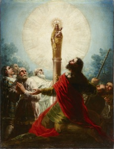Our Lady of the Pillar (Nuestra Señora del Pilar) by Goya