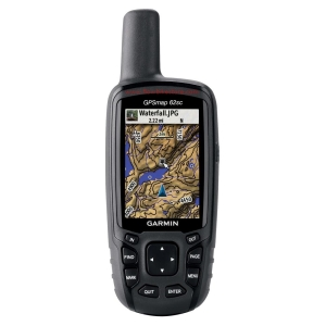 A typical hand-held GPS
