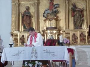 Mass at Alda