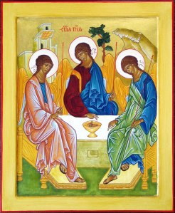 The Trinity (Rublev's Icon)