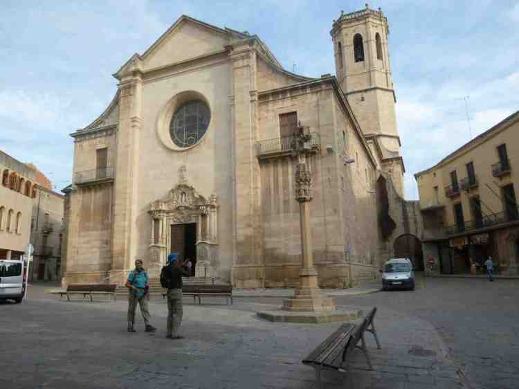 Santa Maria del Alba Church in Tarrega