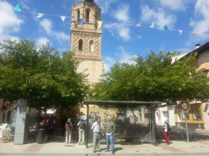View of Monzalbarba square