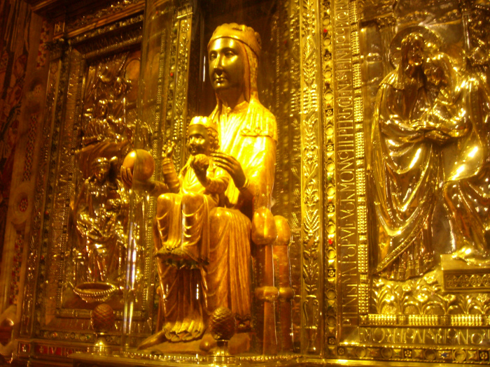 The Black Madonna at Montserrat