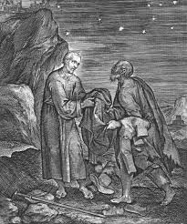 Ignatius gives his fine clothes to a beggar (from The Life of Saint Ignatius by Peter Paul Reubens)