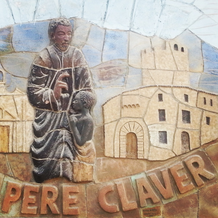 Mosaic of Saint Peter Claver in Verdu