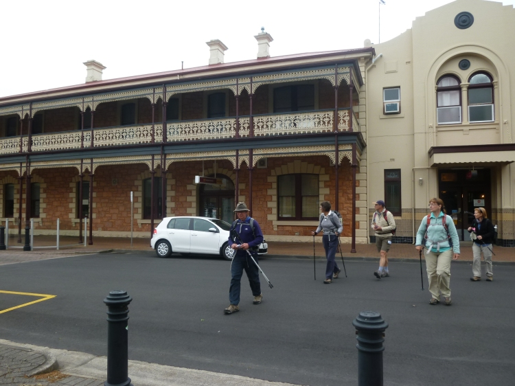 Leaving Jens Hotel in Mount Gambier