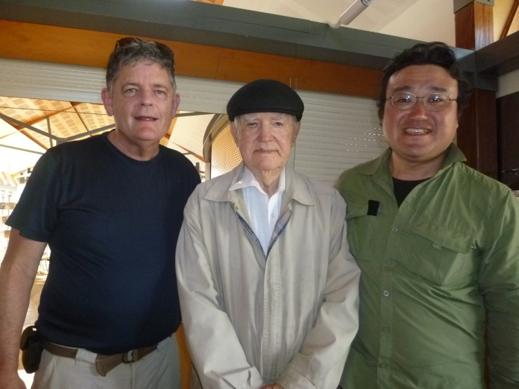 Michael Smith SJ, Paul Gardiner SJ and Yasuhisa Kogure SJ