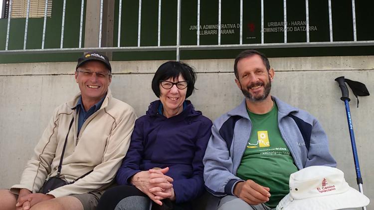 Larry Naismith, Robyn Smith and Jose Lluis Iriberri AS