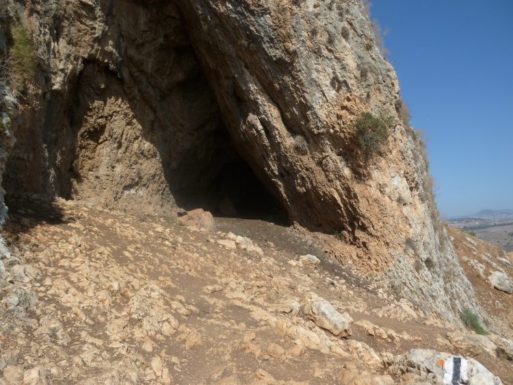 Caves provide some shelter from the searing heat