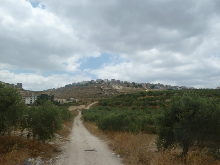 Looking back at the Muslim village of Mash'had