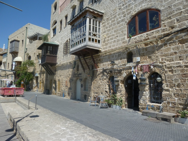 The Old City of Jaffa — it would have looked something like this when Ignatius visited in 1523