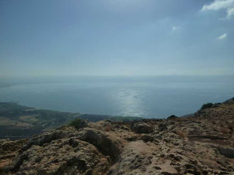 Another view of the Sea of Galilee from Mt Arbel