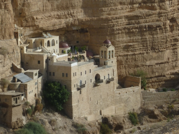 Greek Orthodox Monastery in the desert
