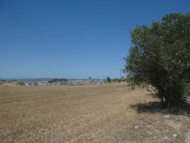 My first view of Manresa