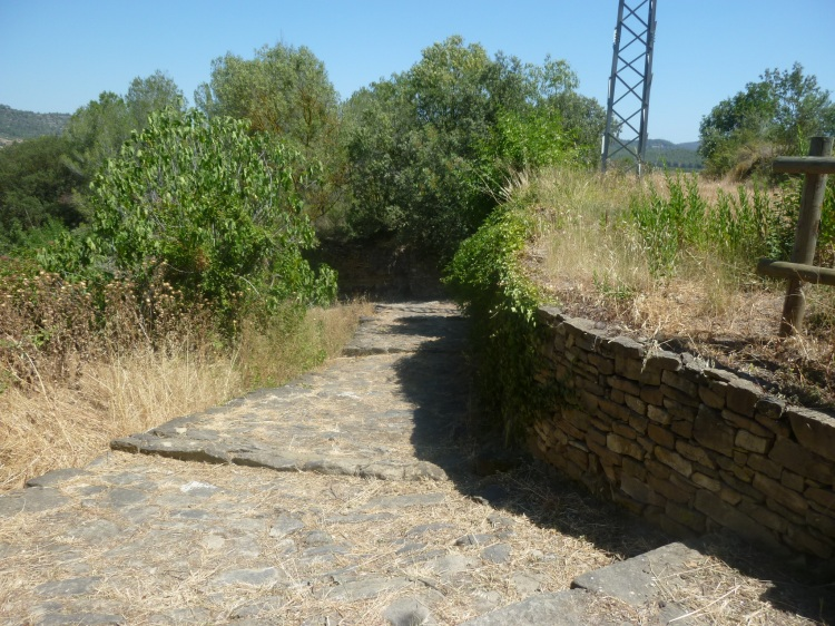 The old Roman road just outside Castellgali