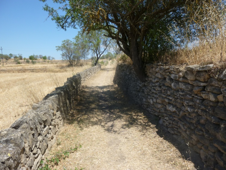 The spot where we regrouped on 1 October in order to all arrive at Manresa at the same time