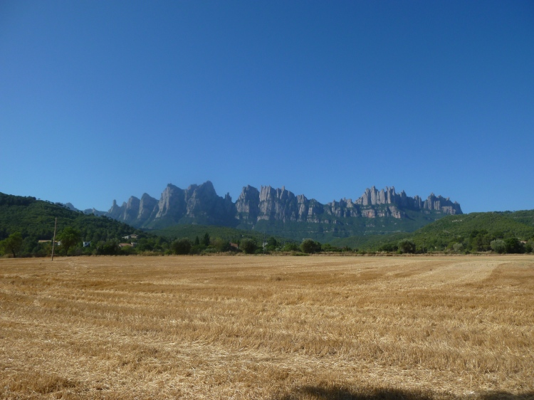 We stopped here in 2013 to look back at Montserrat